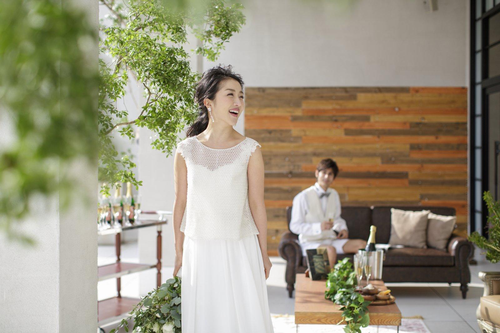 香川県の結婚式場アイスタイルのテラスイメージ