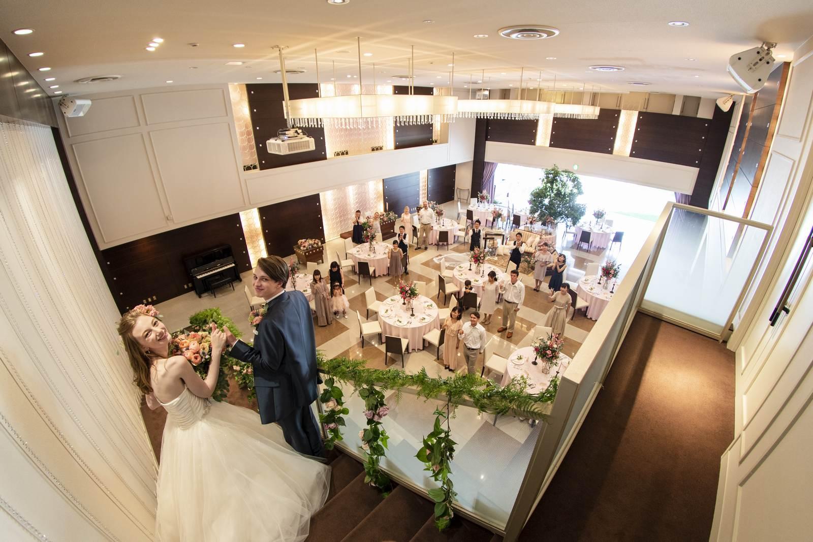 香川県の結婚式場シェルエメールのスイートLでの披露宴