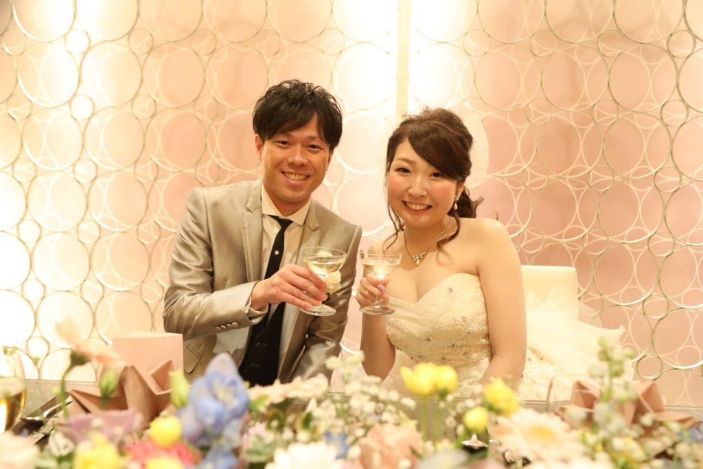 香川県の結婚式場シェルエメールの新郎新婦