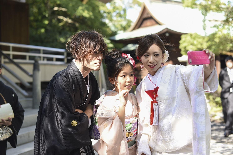 香川県の結婚式場シェルエメールで神前挙式