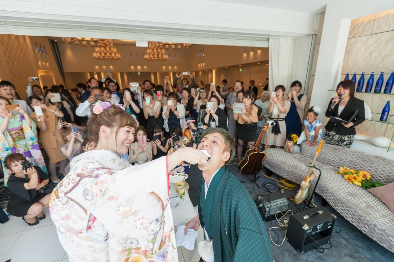 香川県の結婚式場シェルエメールでファーストバイト