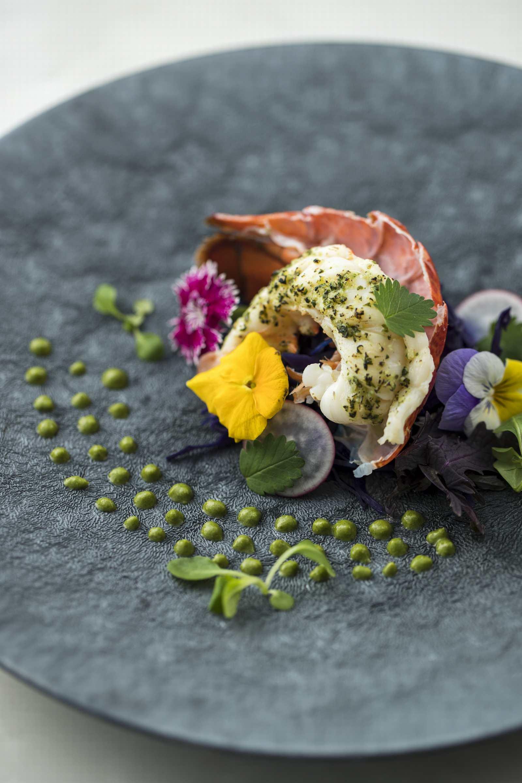 香川県の結婚式場アイスタイルの婚礼料理の魚料理