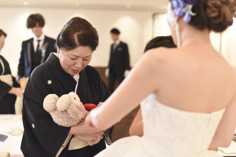 香川県の結婚式場シェルエメールで披露宴の演出