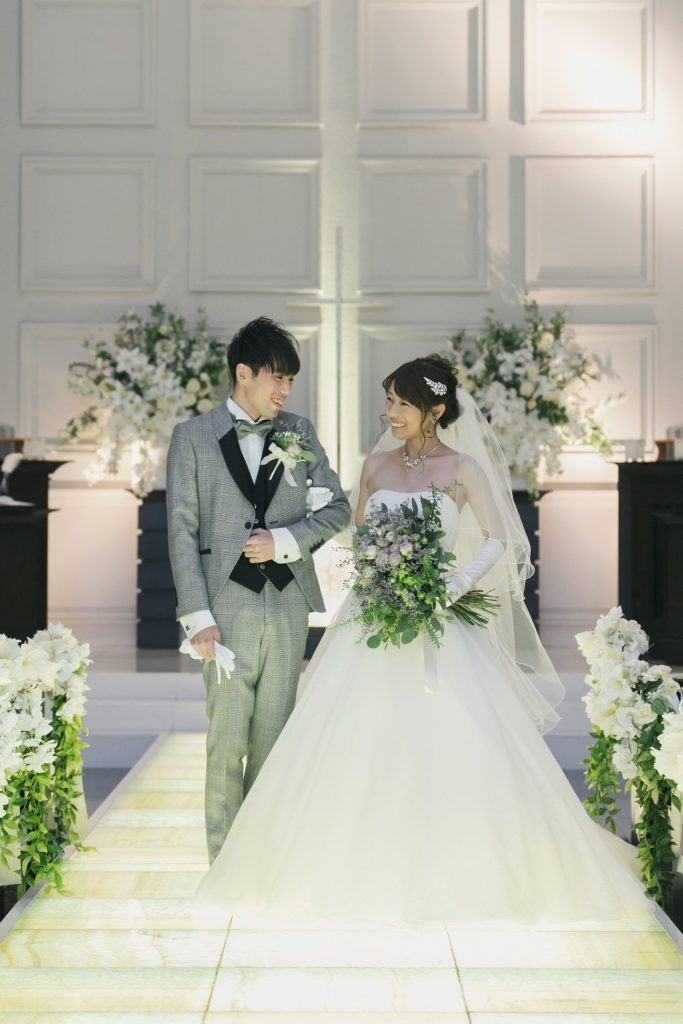 香川県の結婚式場シェルエメールでの結婚式