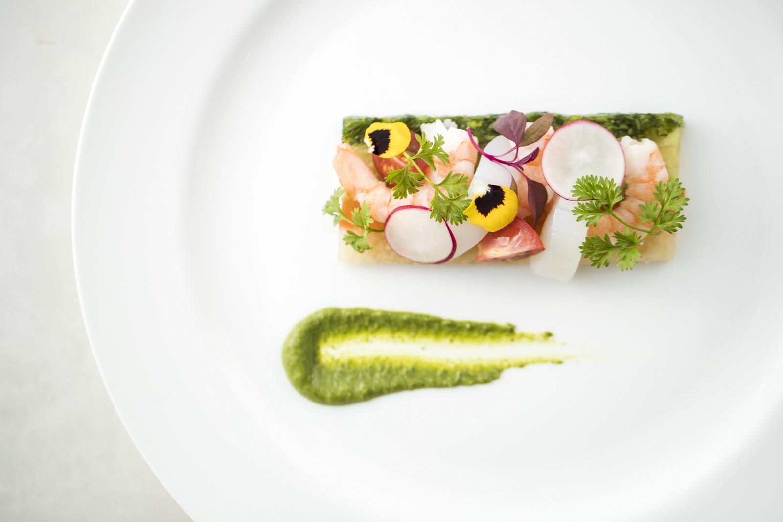 香川県の結婚式場アイスタイルの婚礼料理のイメージ
