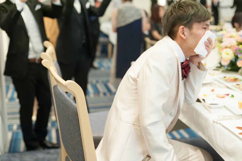 香川県の結婚式場シェルエメールで新郎も感動