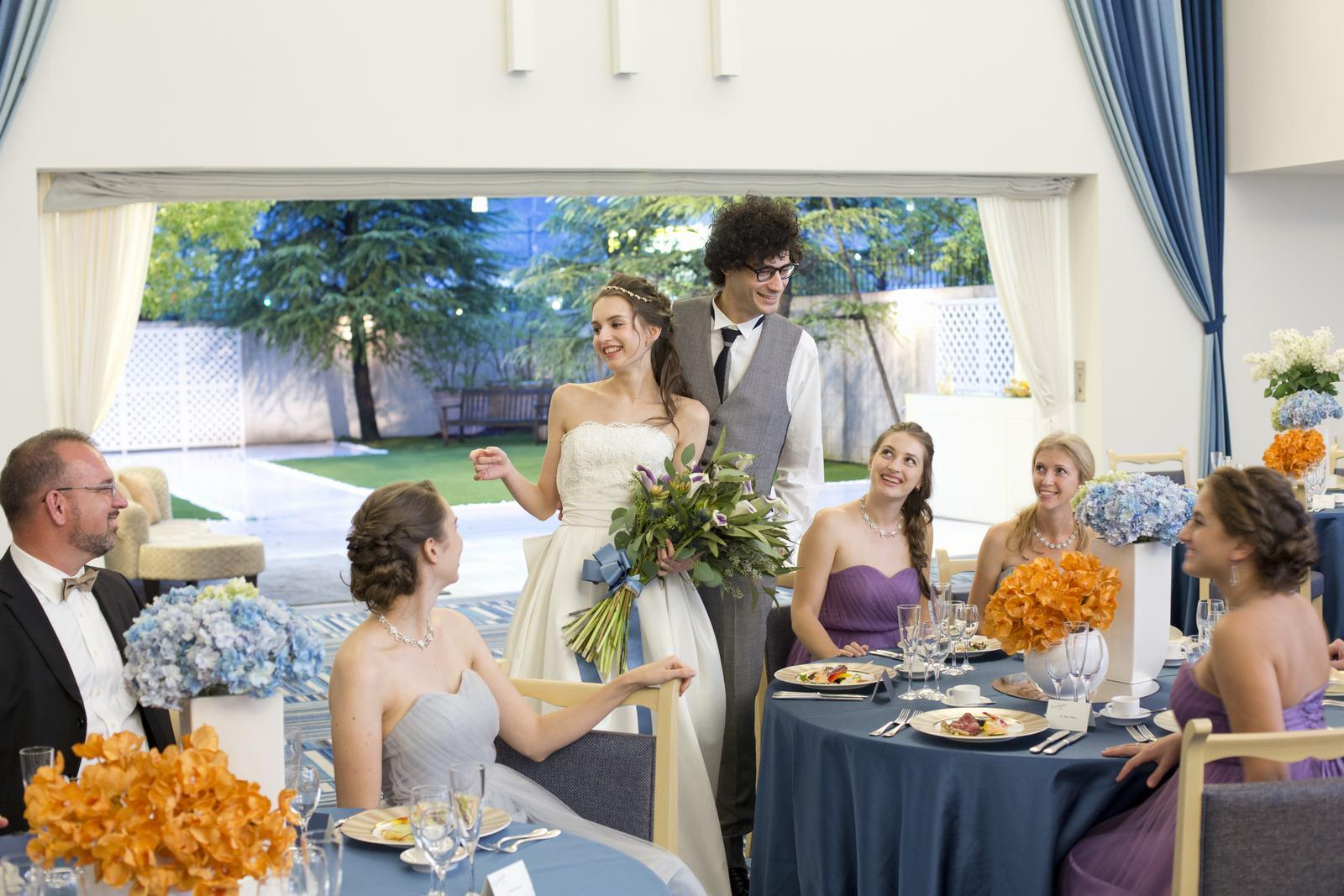 香川県の結婚式場シェルエメールのグラデートのイメージ