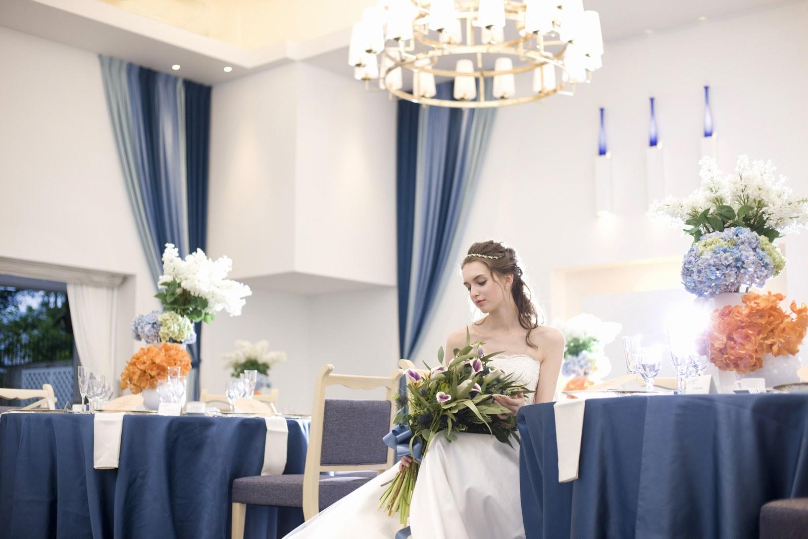 香川県の結婚式場シェルエメールのグラデートのイメージ写真