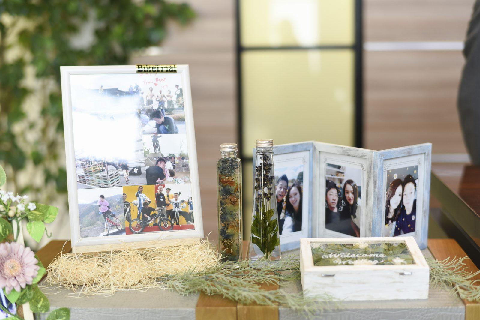 香川県の結婚式場シェルエメールのウエディングの手作りアイテム