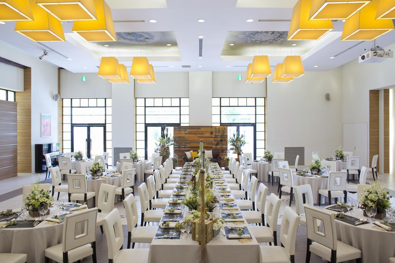 香川県の結婚式場アイスタイルのテーブルコーディネート