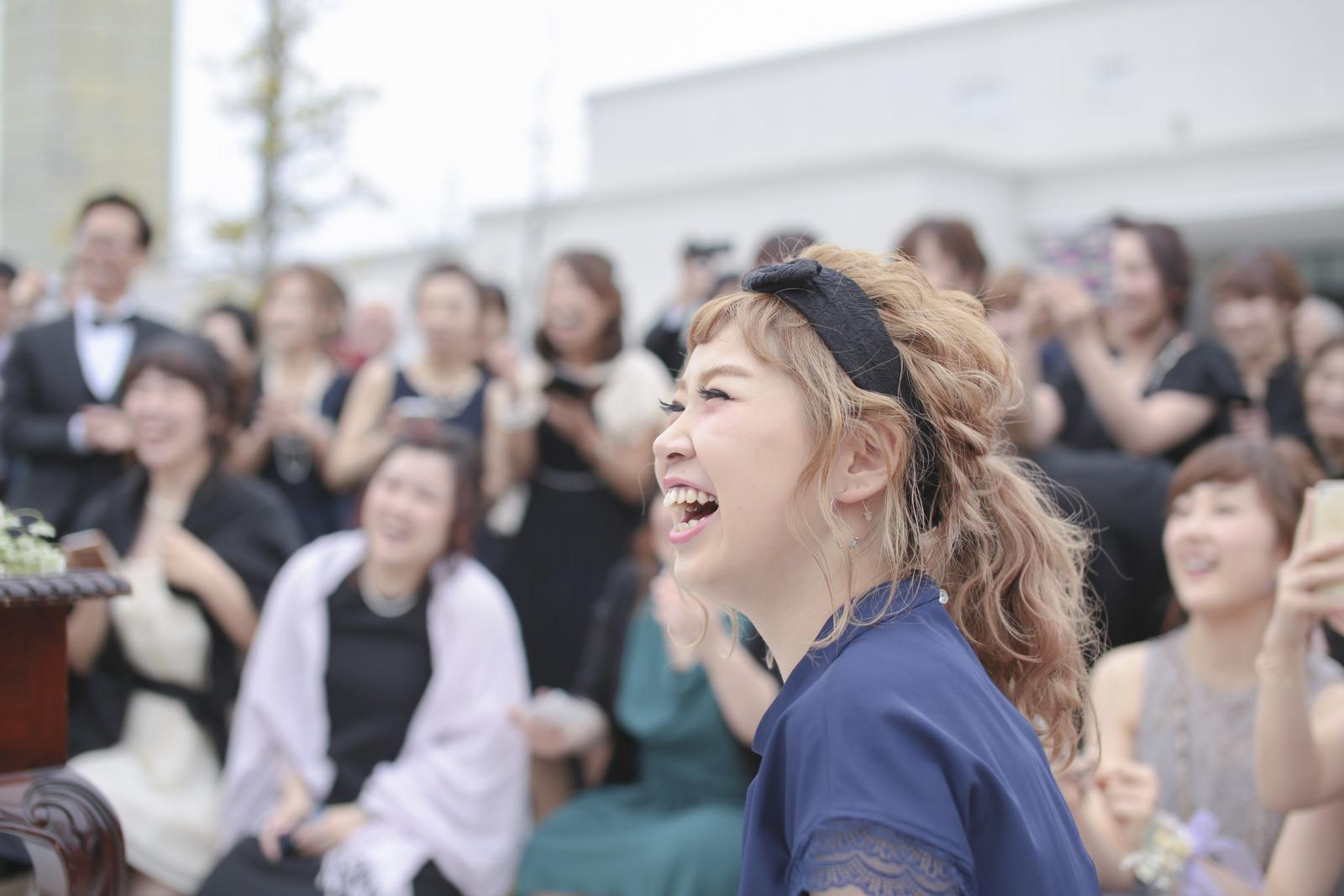 香川県の結婚式場シェルエメール&アイスタイルのガーデン演出