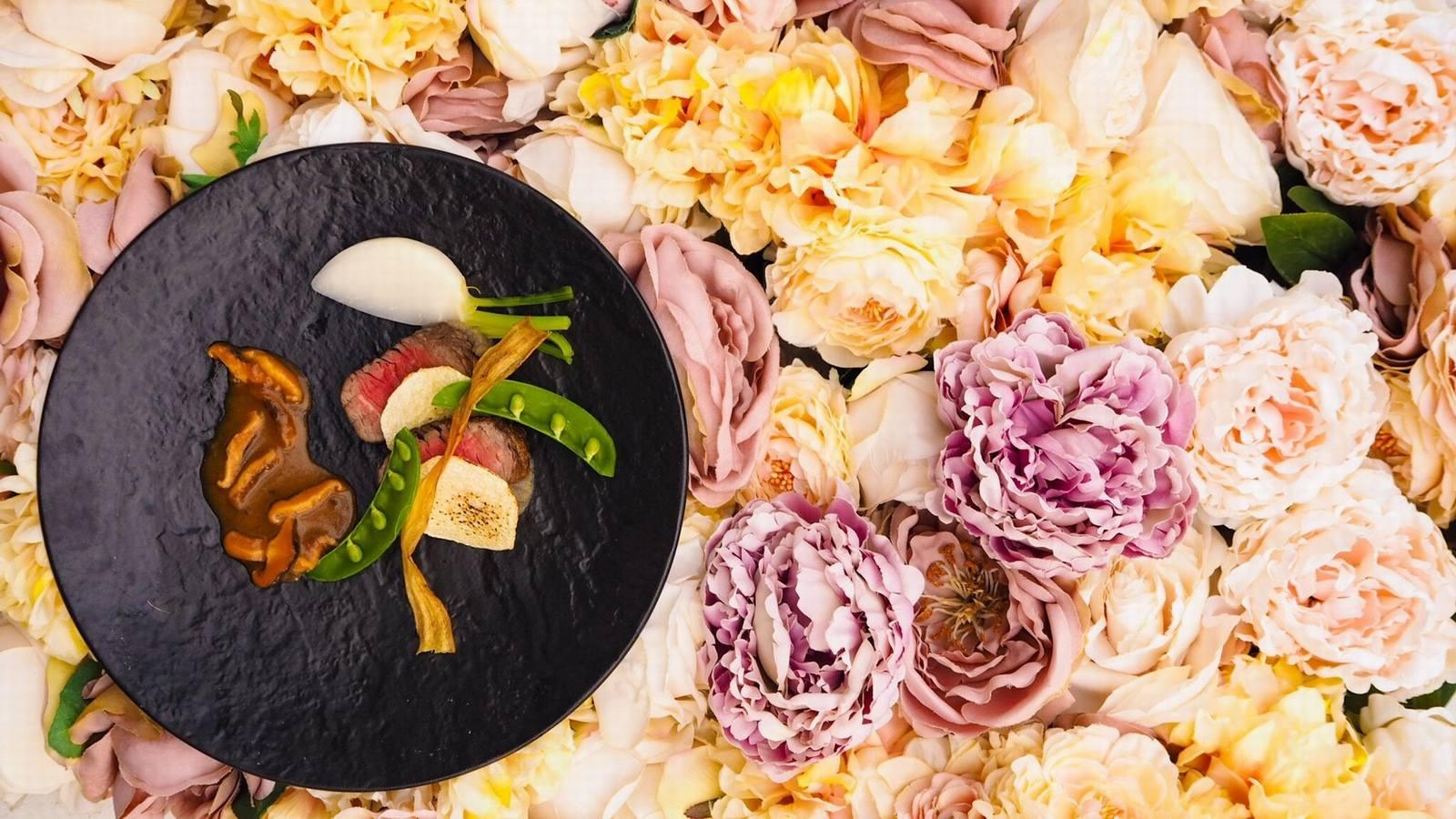 香川県の結婚式場シェルエメール&アイスタイルの料理