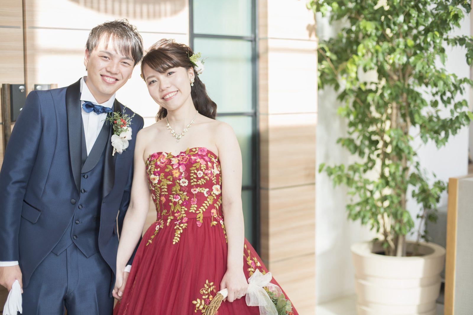 香川県の結婚式場シェルエメール&アイスタイル ツーショット