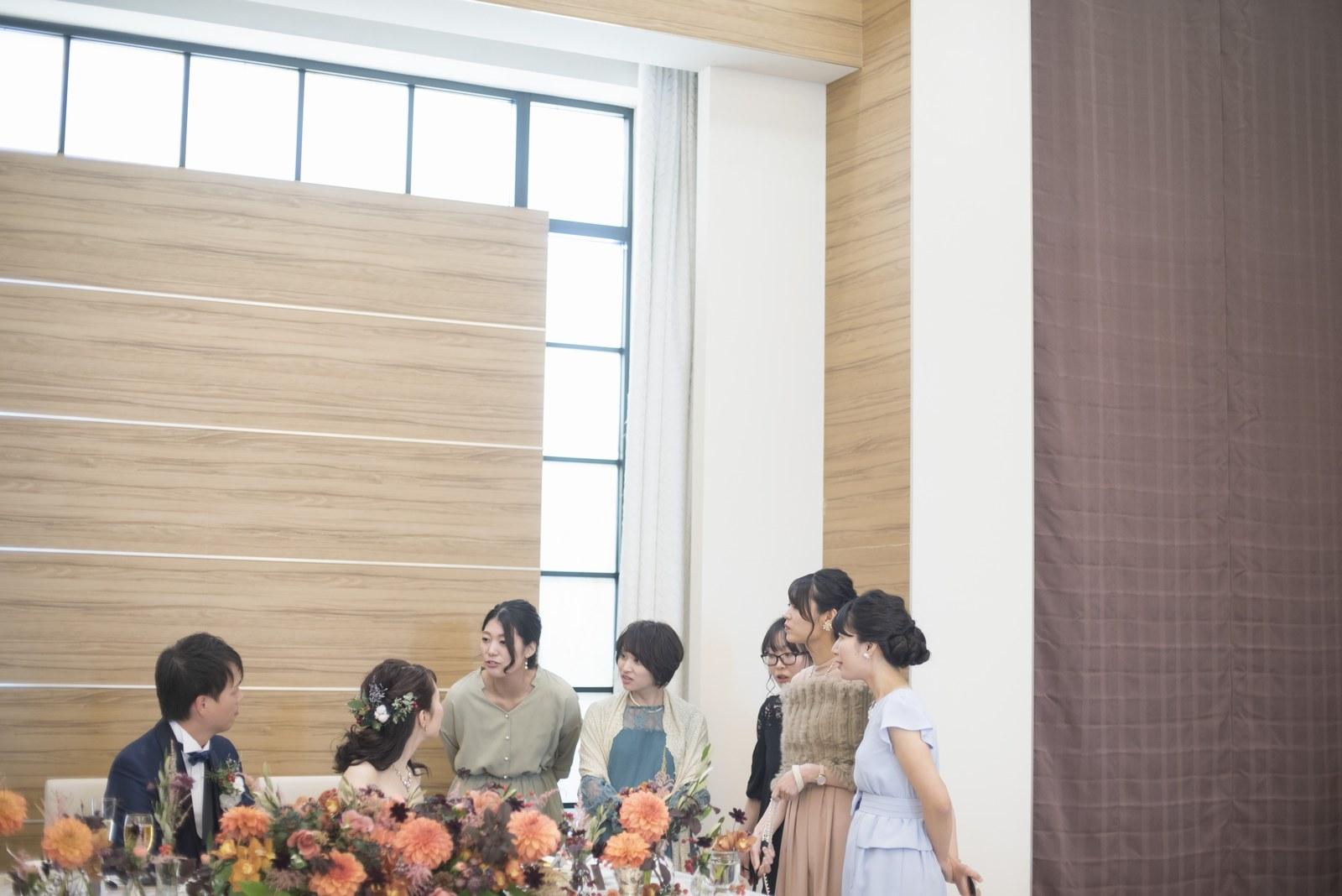 香川県の結婚式場シェルエメール&アイスタイル 友人