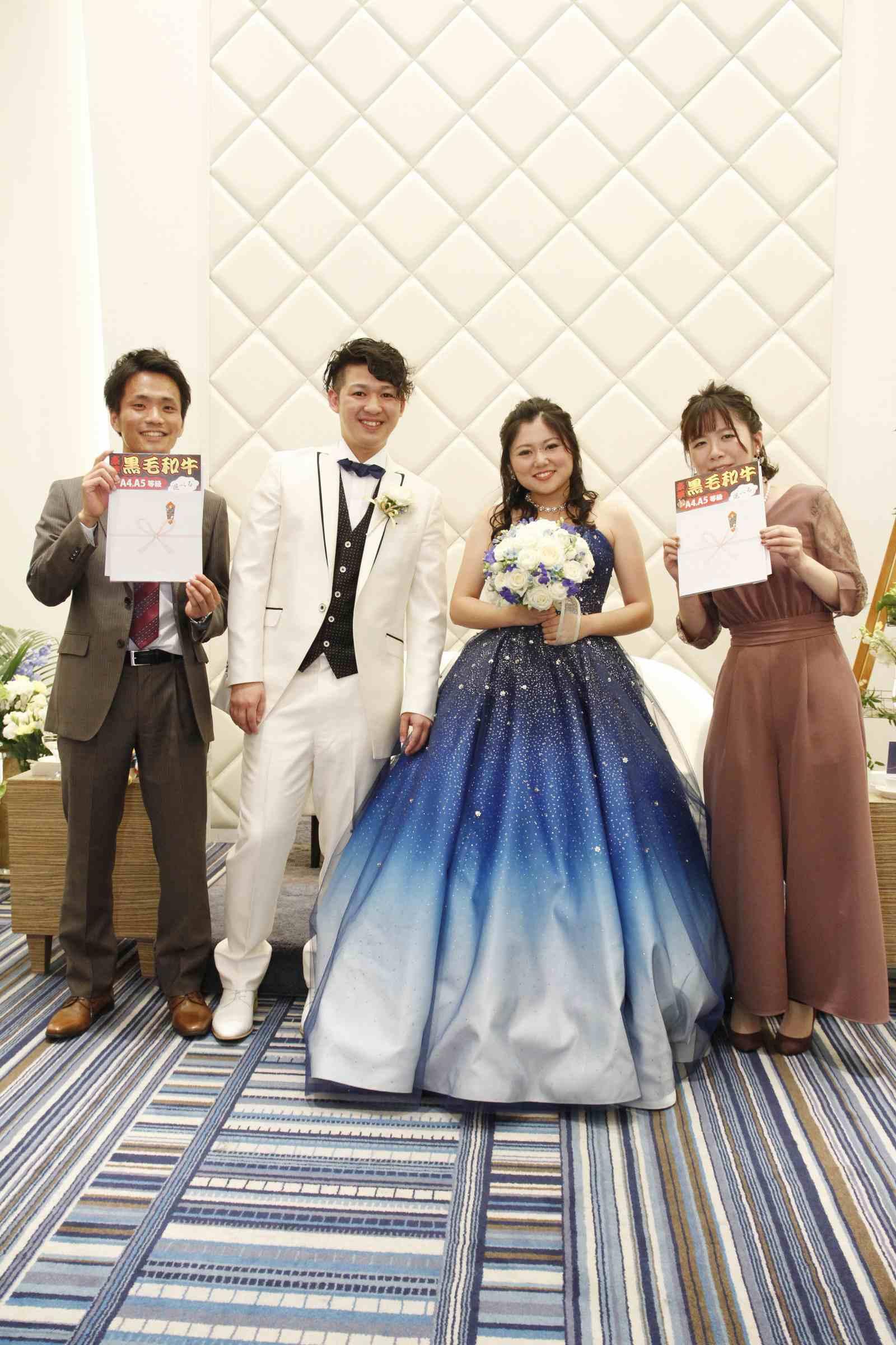 香川県高松市の結婚式場シェルエメール&アイスタイル ドレス当てクイズ