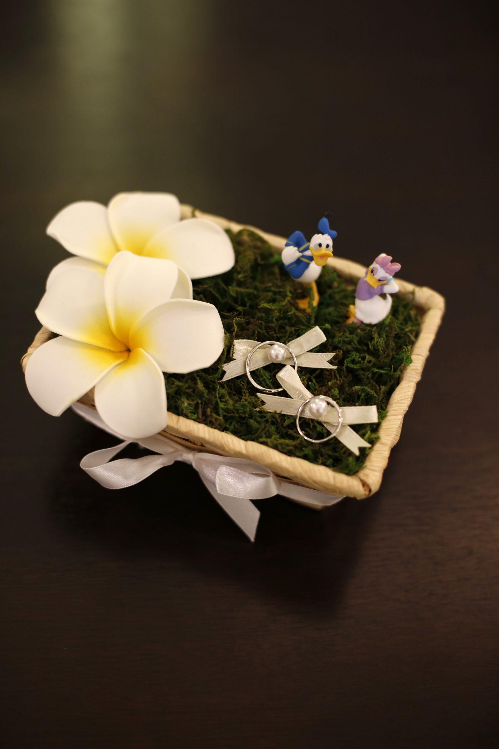 香川県高松市の結婚式場シェルエメール&アイスタイル リングピロー