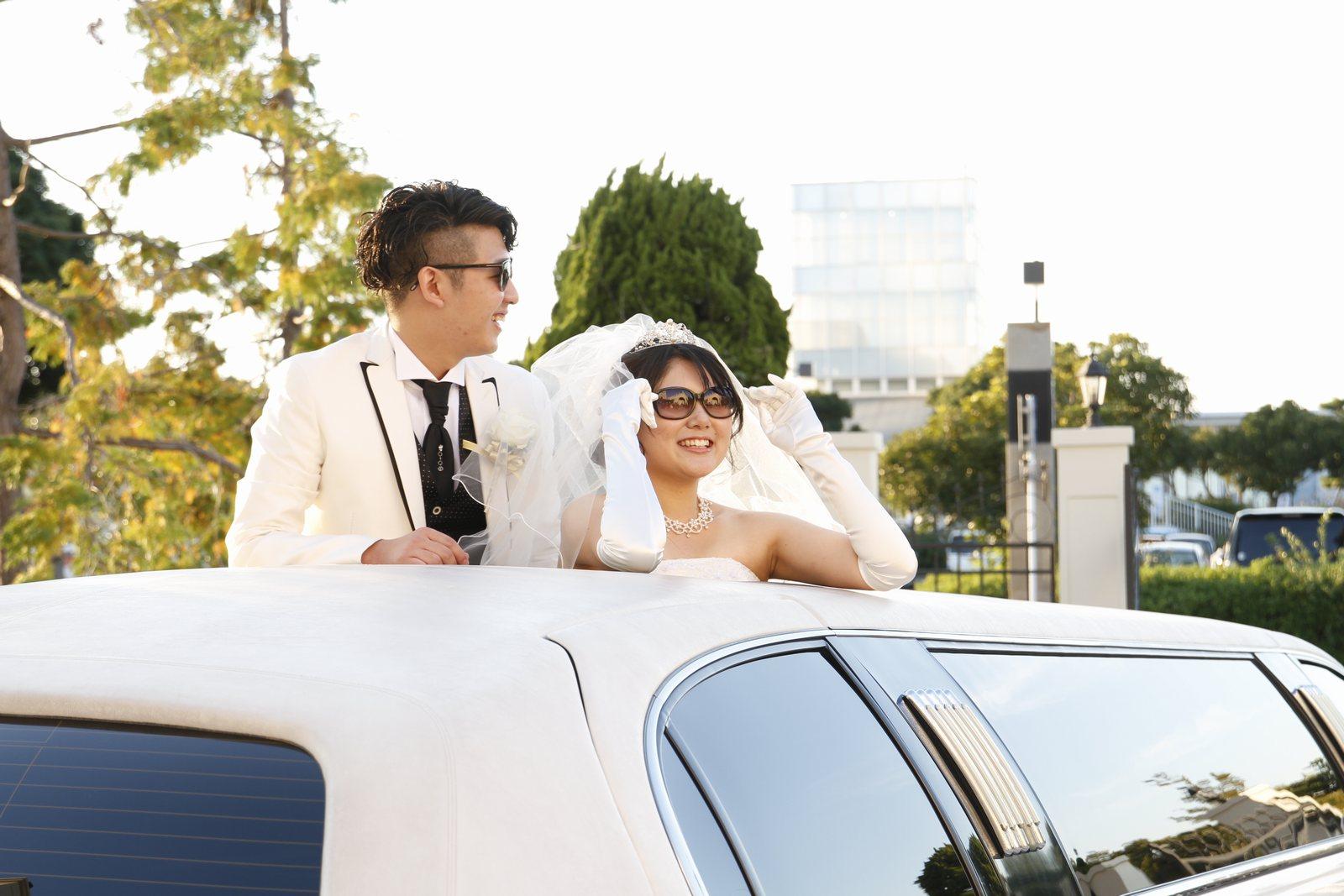 香川県高松市の結婚式場シェルエメール&アイスタイル リムジン