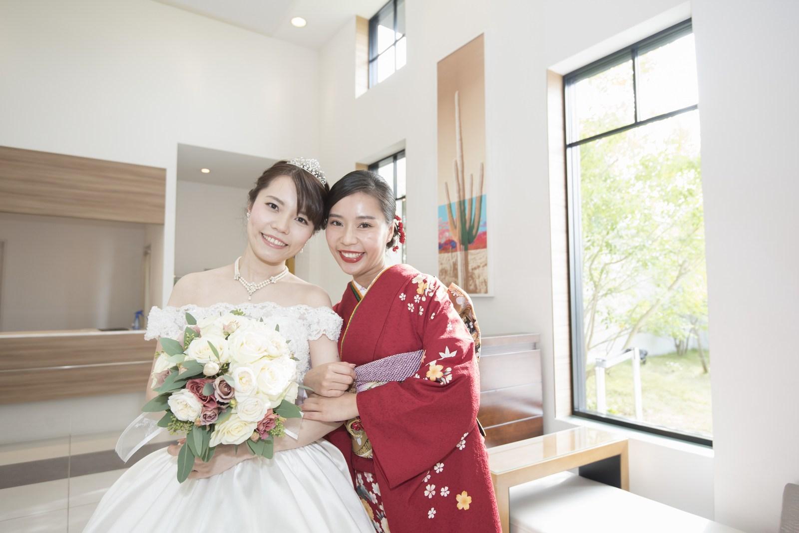 香川県の結婚式場シェルエメール&アイスタイルお色直し
