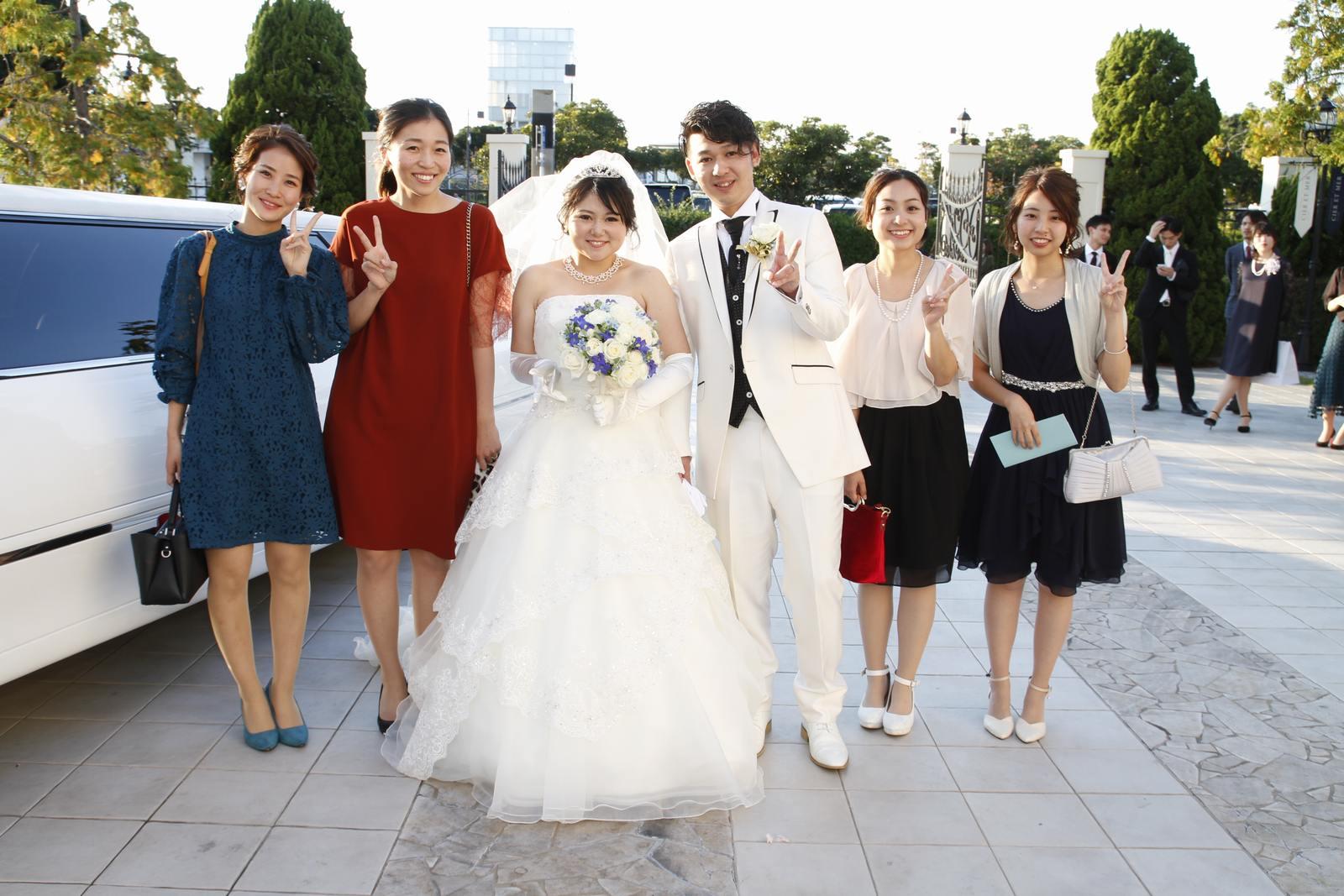 香川県高松市の結婚式場シェルエメール&アイスタイル 集合写真