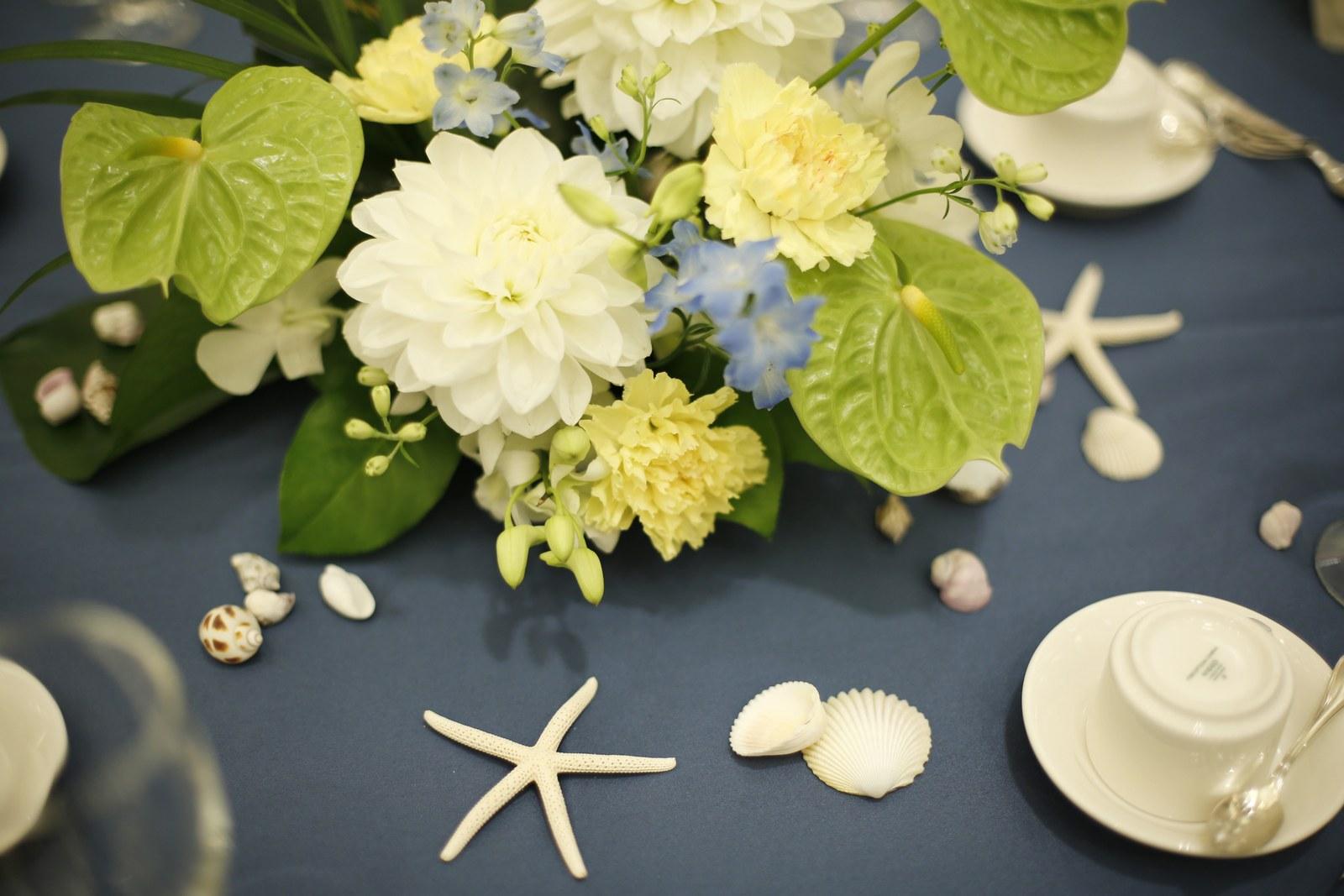 香川県の結婚式場シェルエメール&アイスタイル 会場装飾