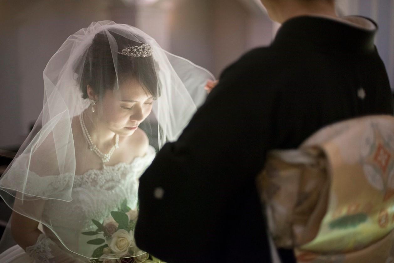 香川県の結婚式場シェルエメール&アイスタイル ベールダウン
