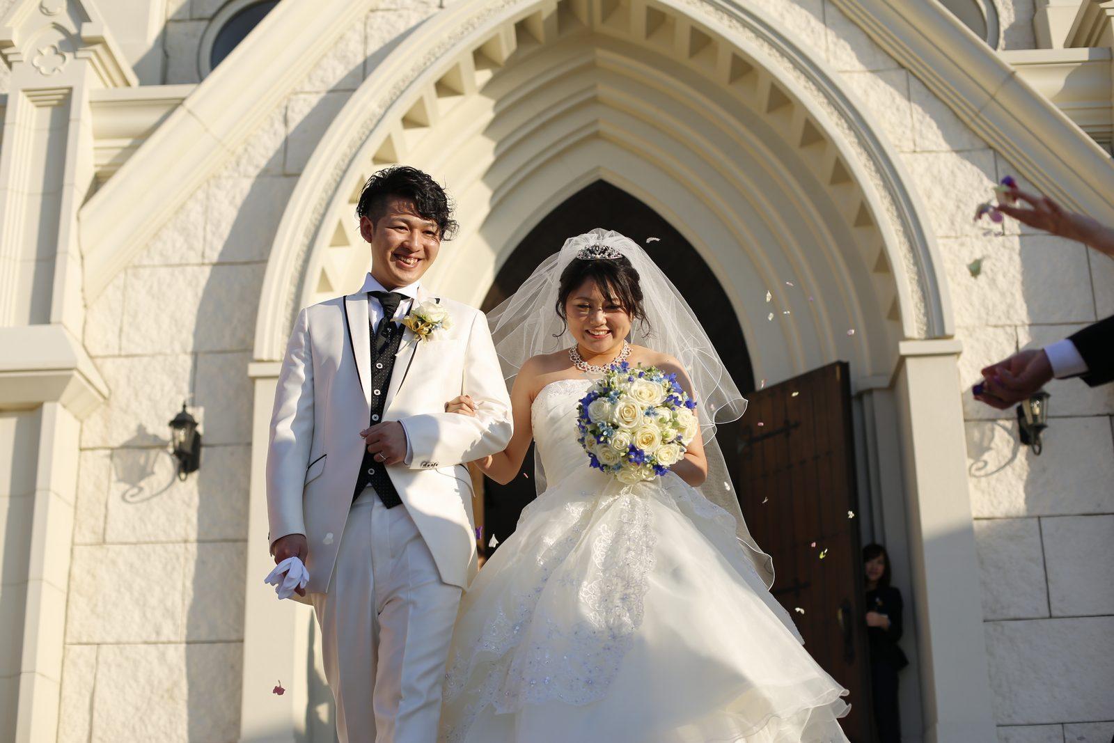 香川県高松市の結婚式場シェルメール&アイスタイル 大階段