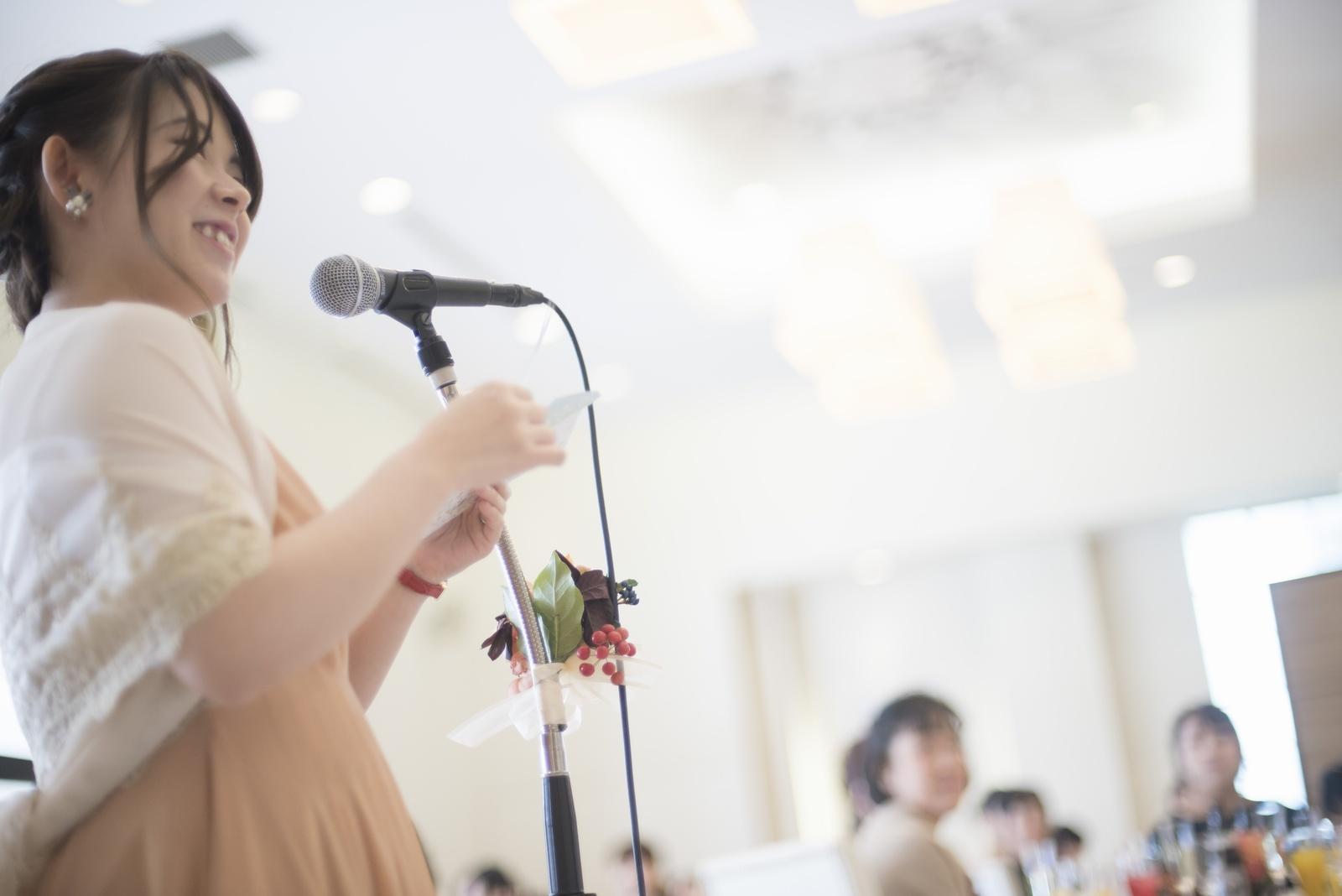香川県の結婚式場シェルエメール&アイスタイル 友人スピーチ