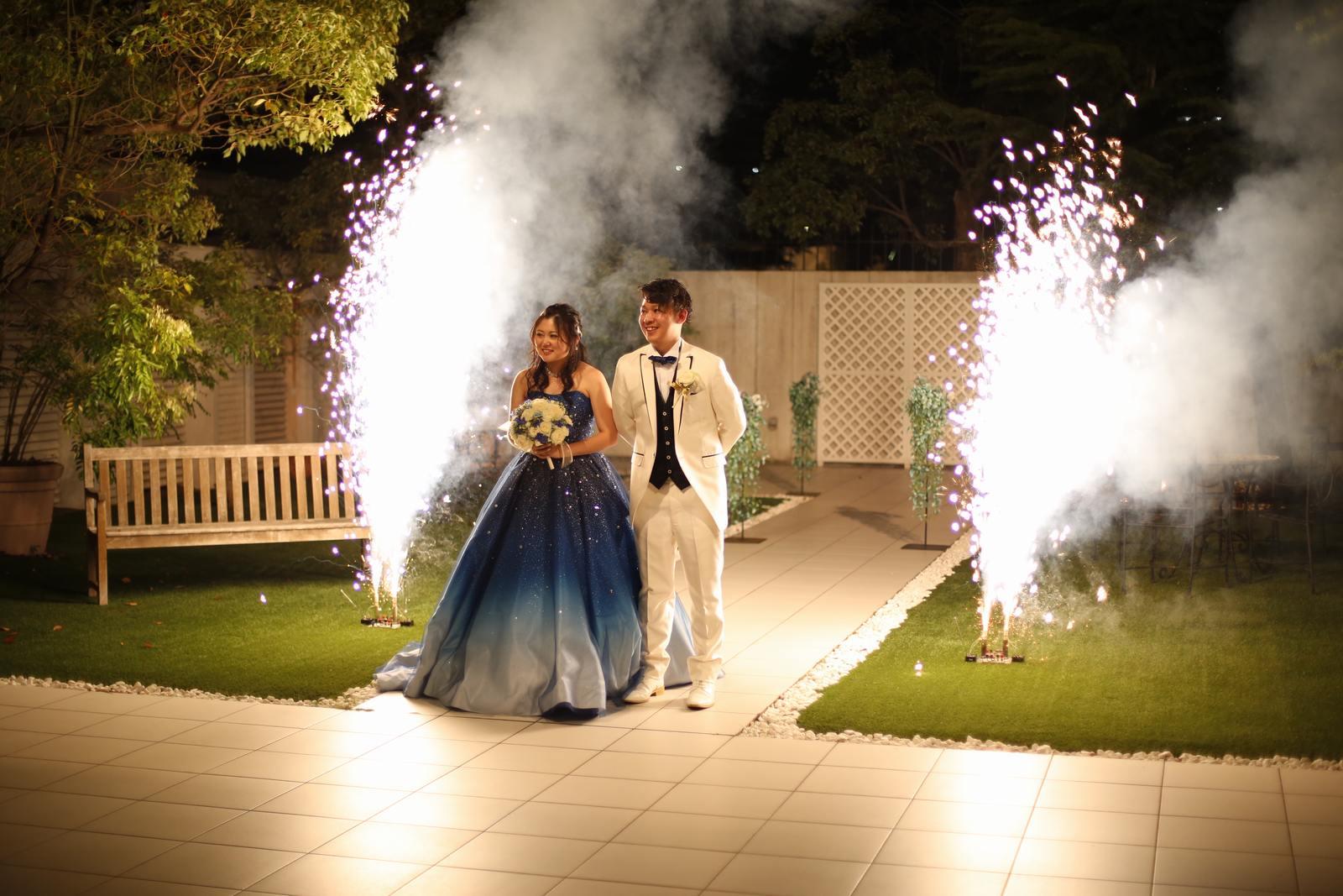 香川県高松市の結婚式場シェルエメール&アイスタイル お色直し入場
