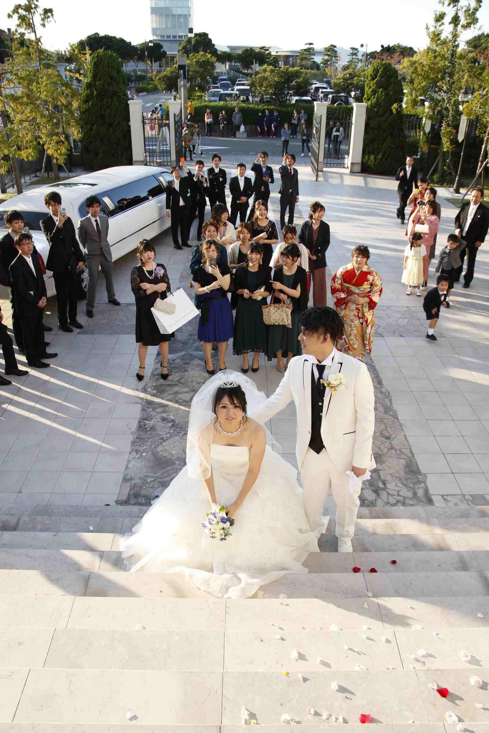 香川県高松市の結婚式場シェルエメール&アイスタイル ブーケトス