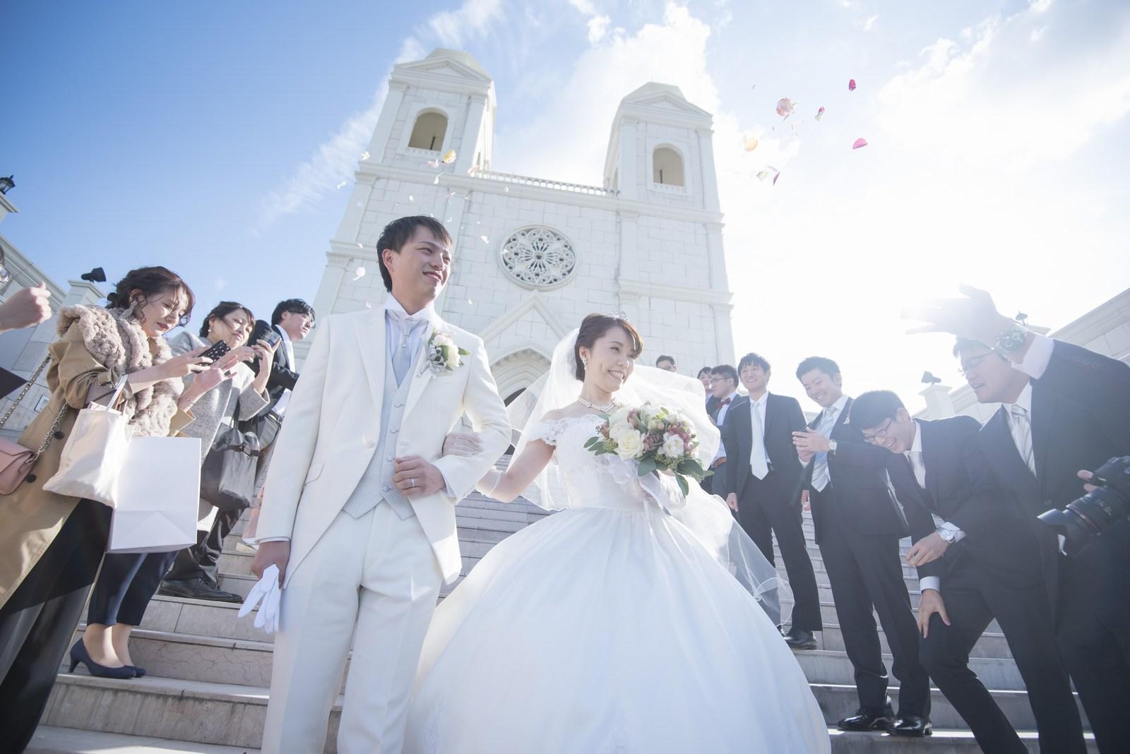 香川県の結婚式場シェルエメール&アイスタイル 大階段