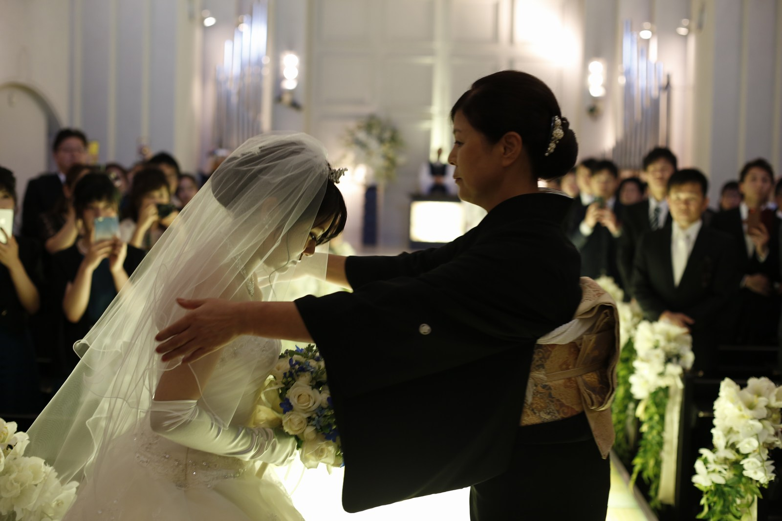 香川県高松市の結婚式場シェルエメール&アイスタイル ベールダウン