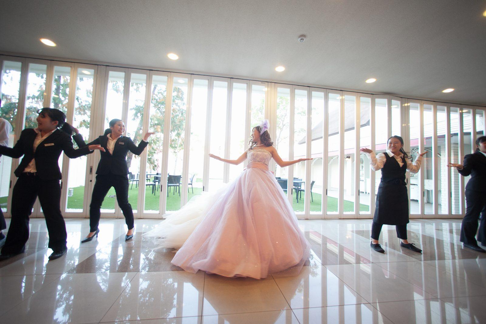 香川の結婚式場シェルエメール&アイスタイル フラッシュモブ