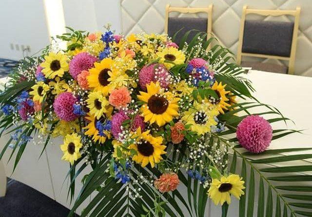 香川県高松市の結婚式場シェルエメール&アイスタイル 会場装花