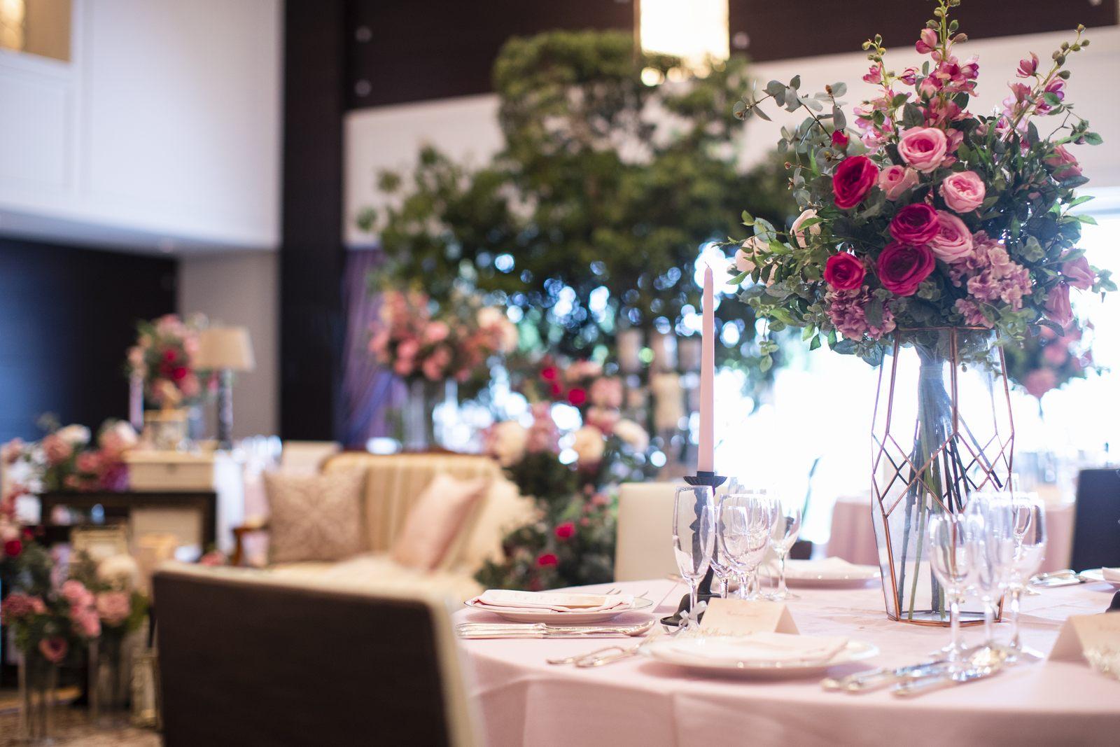 香川県の結婚式場のシェルエメール&アイスタイルの会場