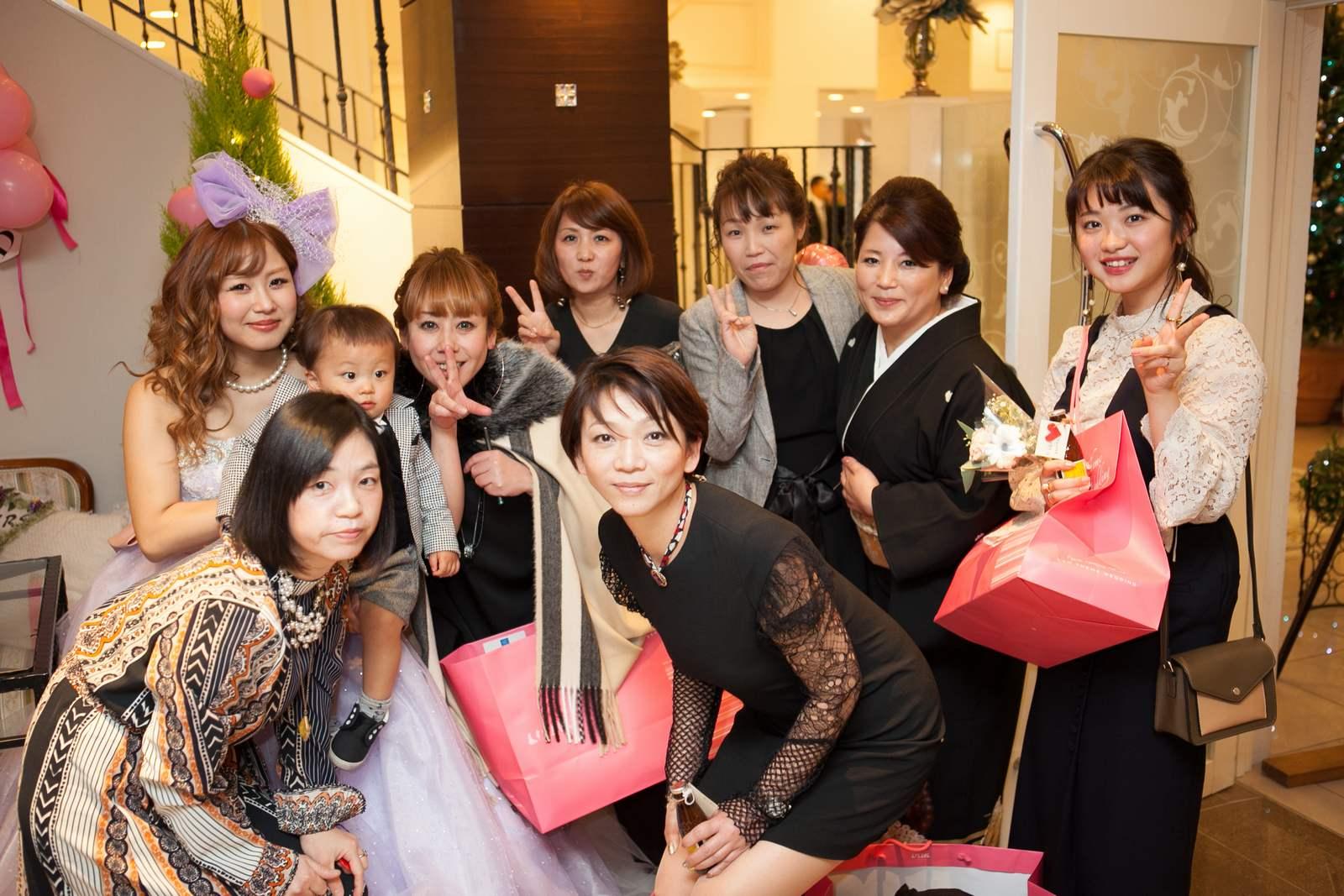 香川の結婚式場シェルエメール&アイスタイル 集合写真