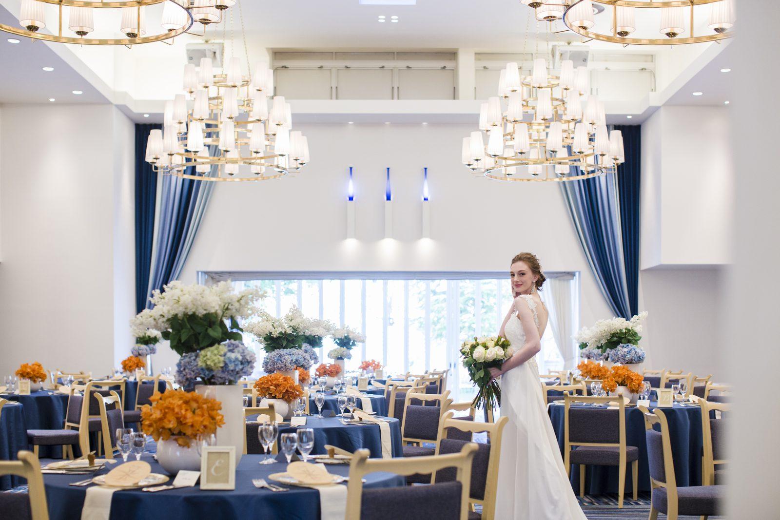 香川県高松市の結婚式場シェルエメール&アイスタイルの会場