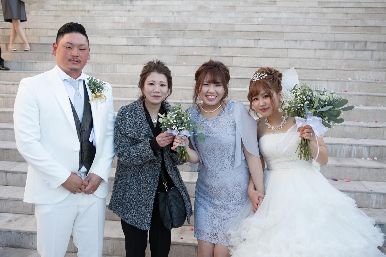 香川の結婚式場シェルエメール&アイスタイル ブーケトス