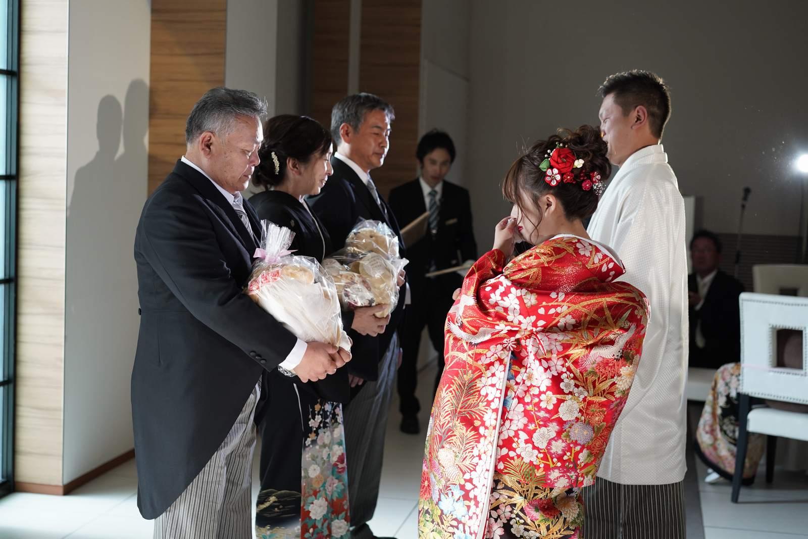 香川の結婚式場シェルエメール&アイスタイル 花束贈呈