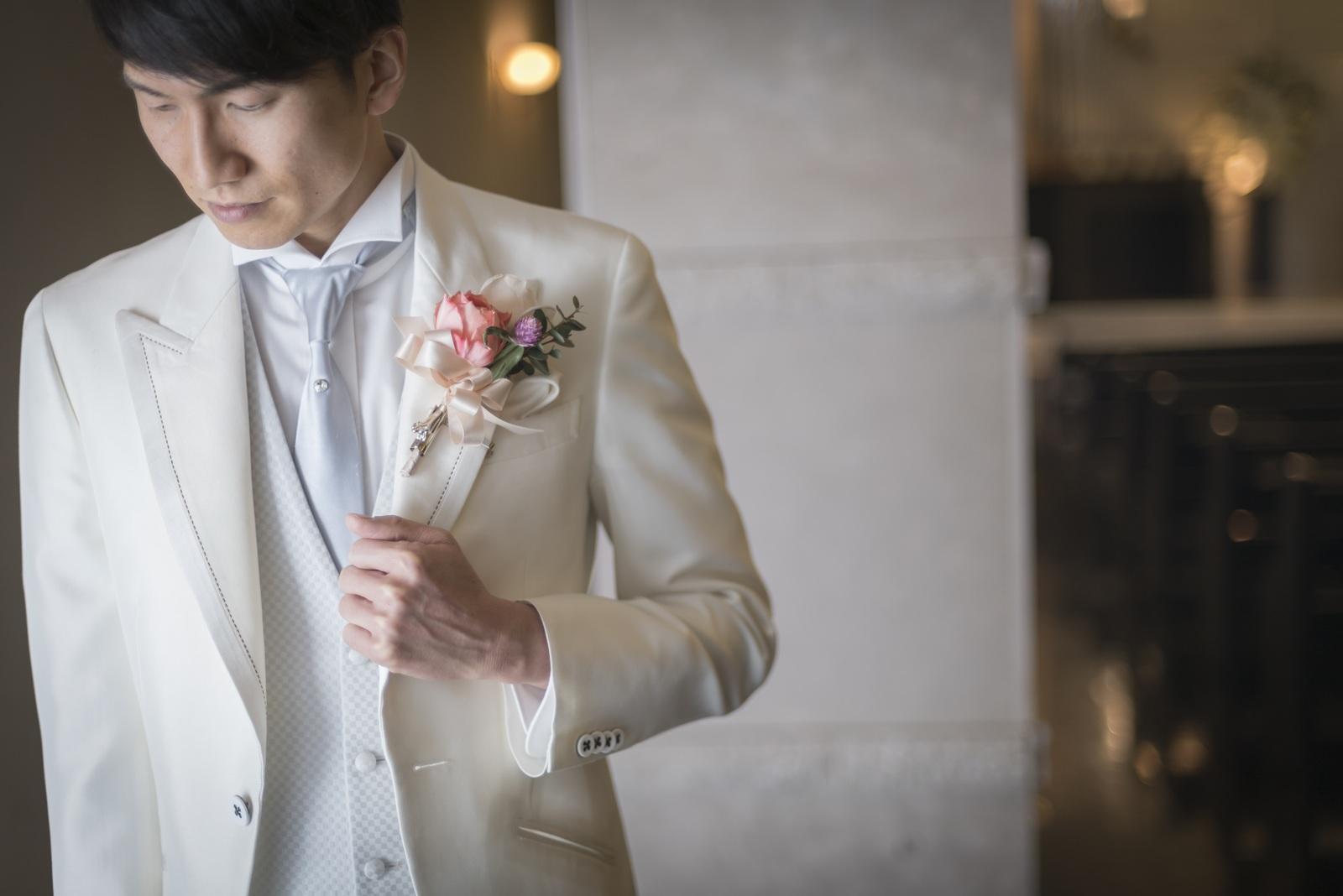 香川県高松市の結婚式場シェルエメール&アイスタイル 新郎