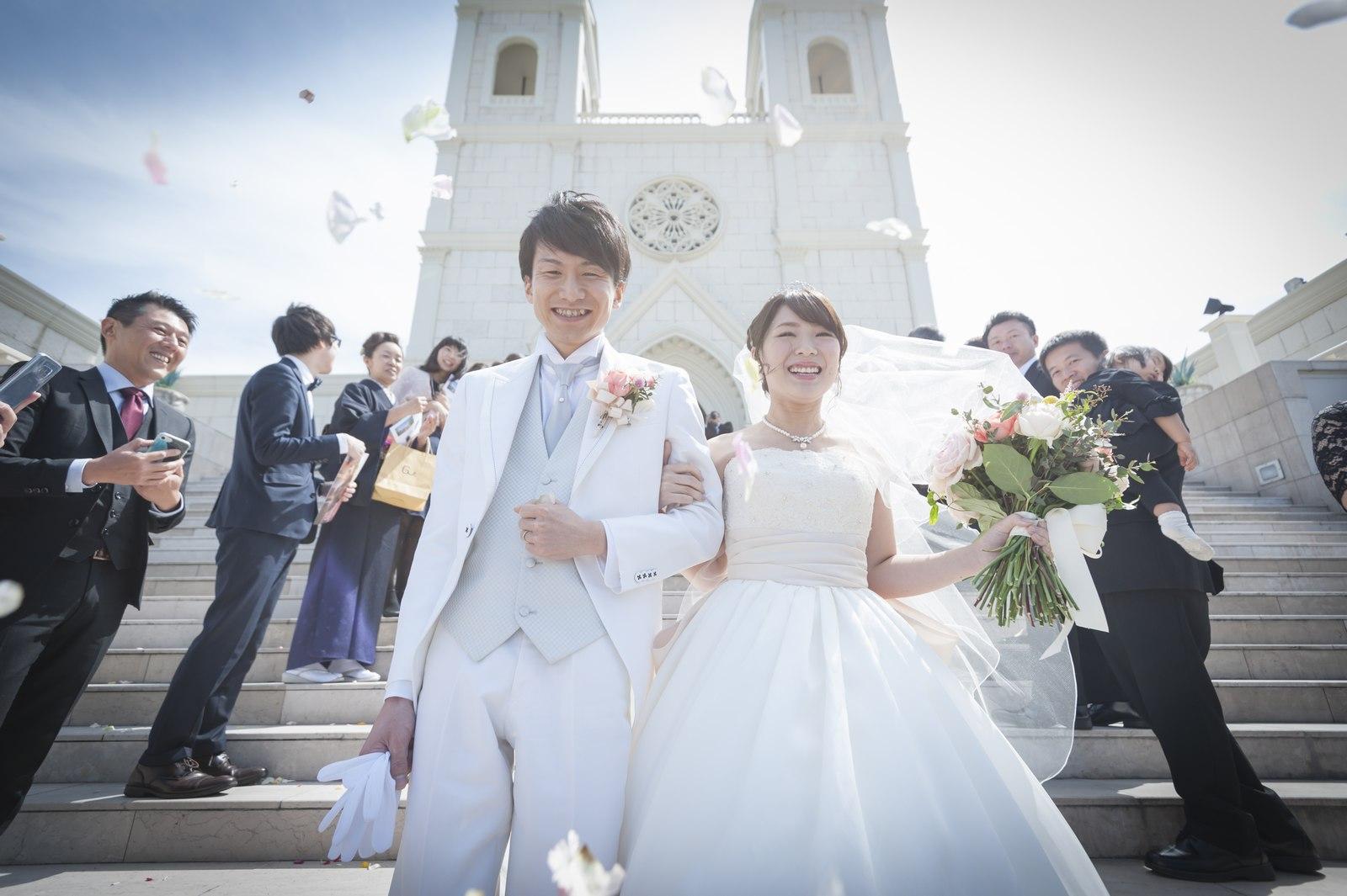 香川の結婚式場シェルエメール&アイスタイル 大階段