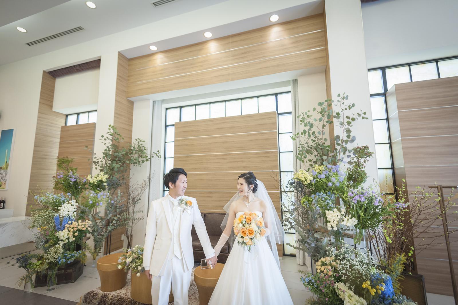 香川の結婚式場シェルエメール&アイスタイルのナチュラル会場