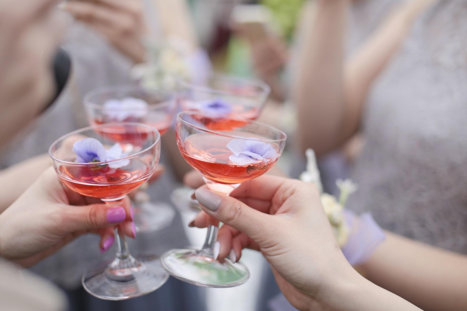 香川の結婚式場のシェルエメール&アイスタイルのおしゃれな乾杯酒