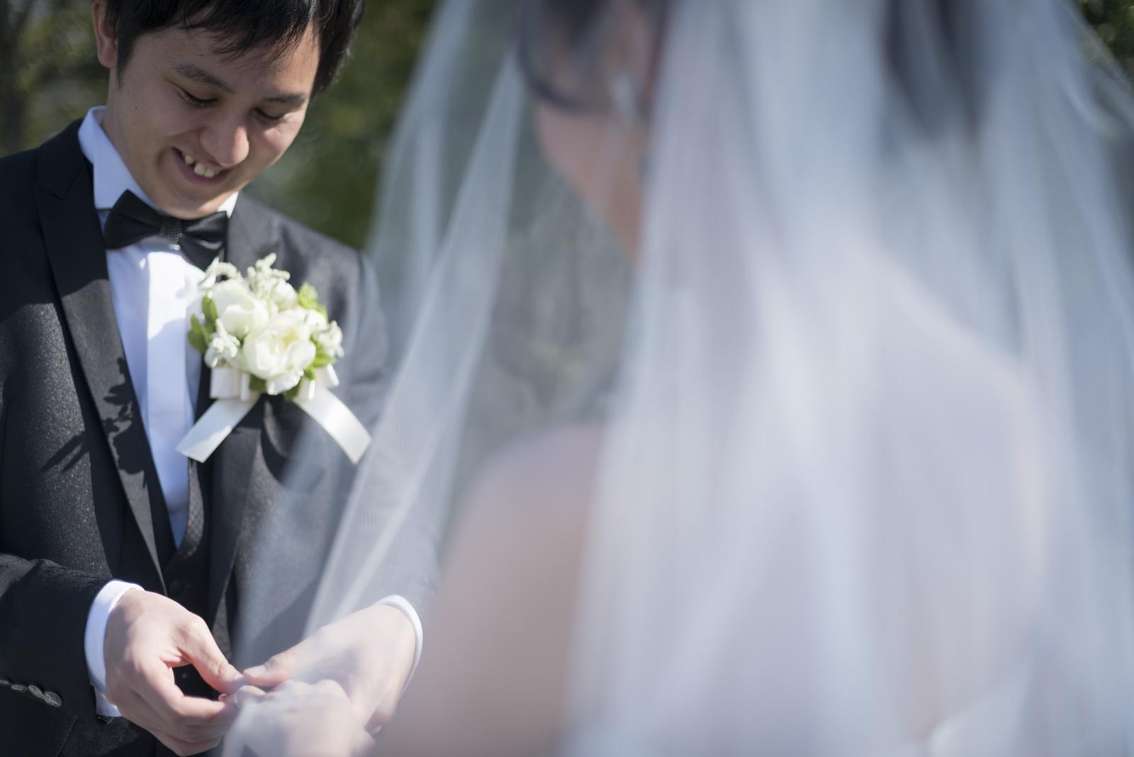 香川県の結婚式場シェルエメール&アイスタイル 指輪の交換