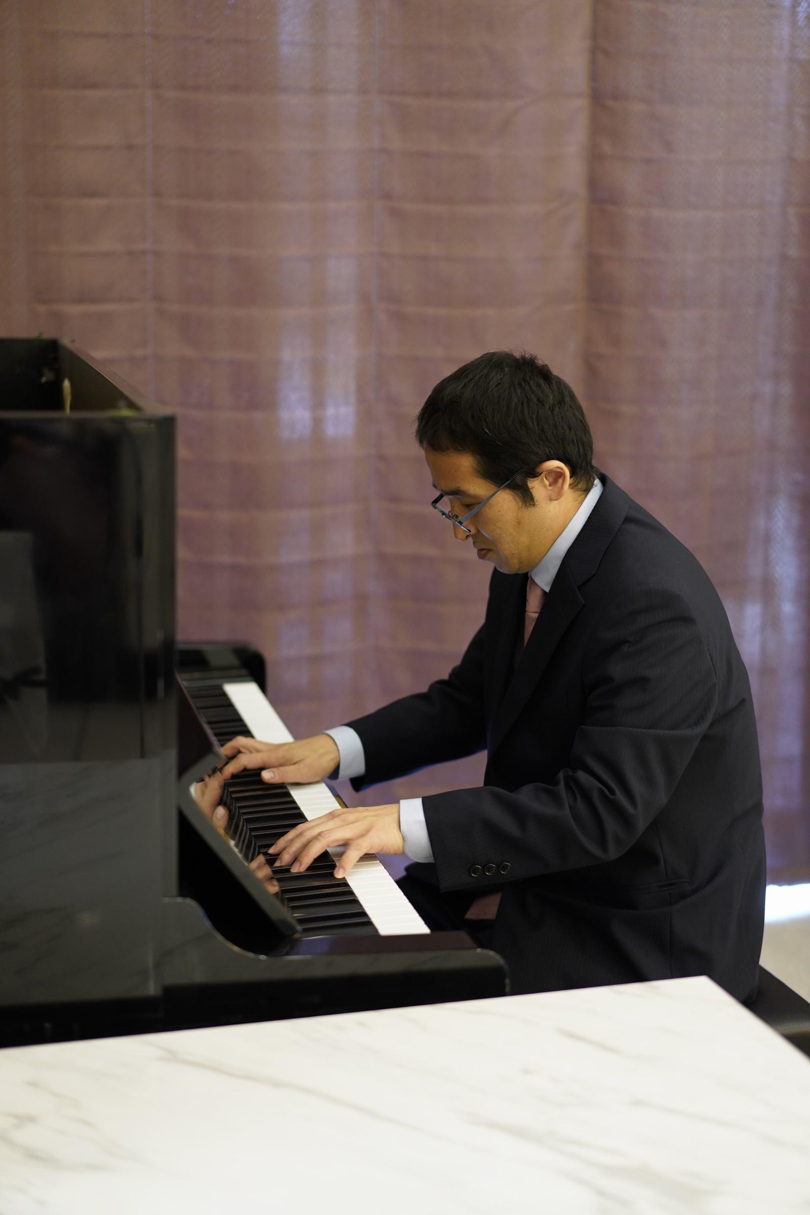 香川の結婚式場シェルエメール&アイスタイル ピアノ演奏