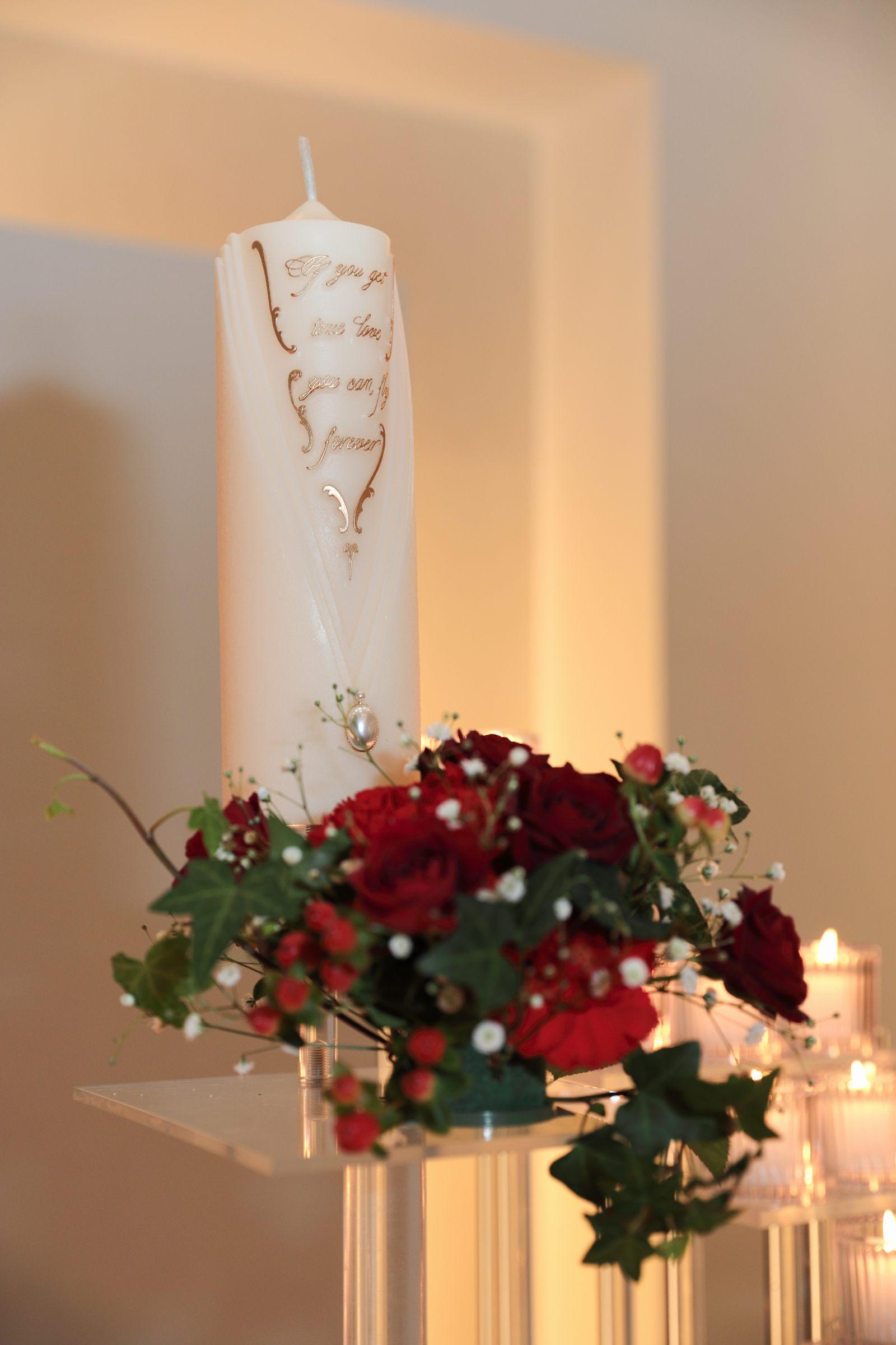 香川の結婚式場シェルエメール&アイスタイル メインキャンドル