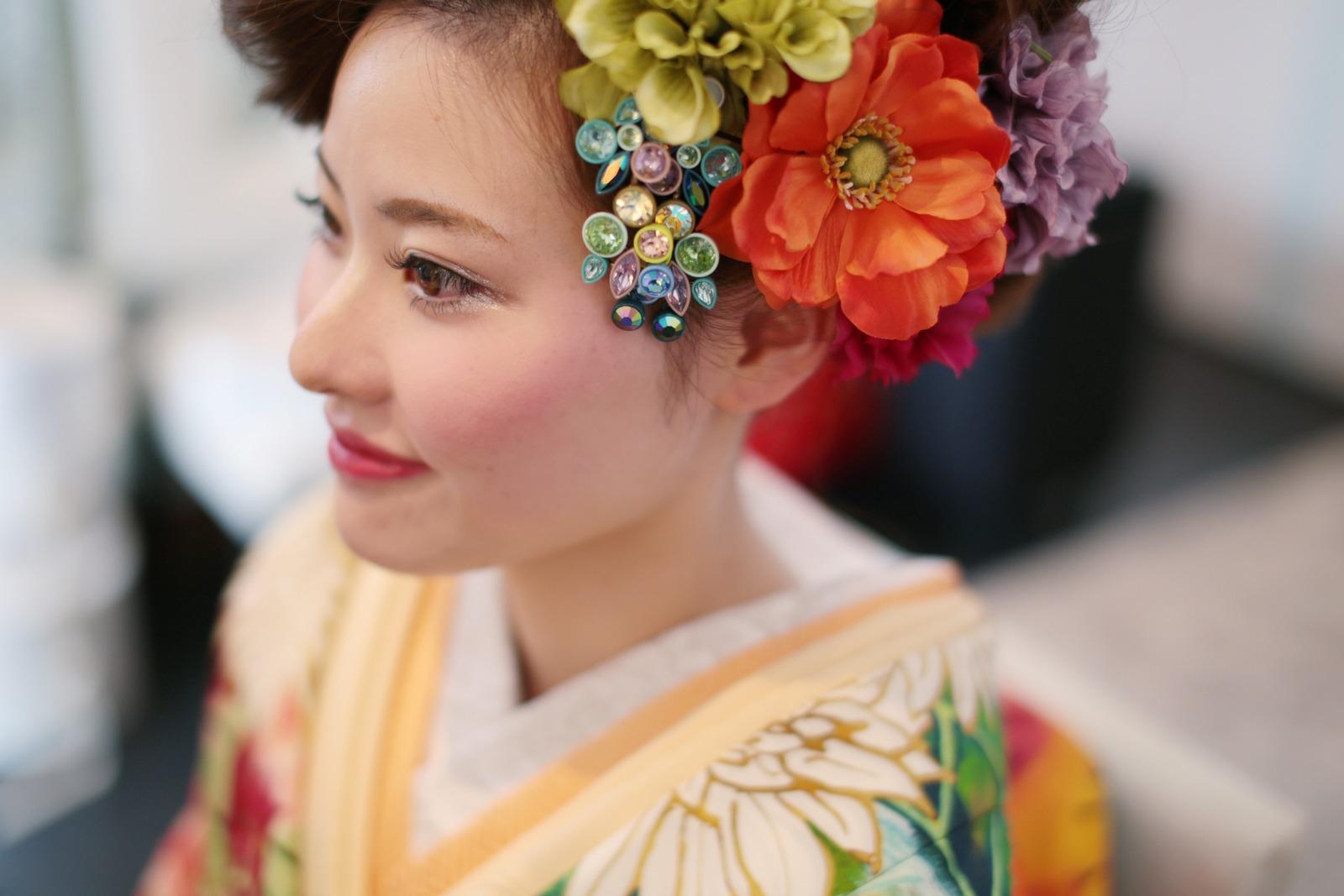 香川の結婚式場のシェルエメール&アイスタイルの和装コーデ