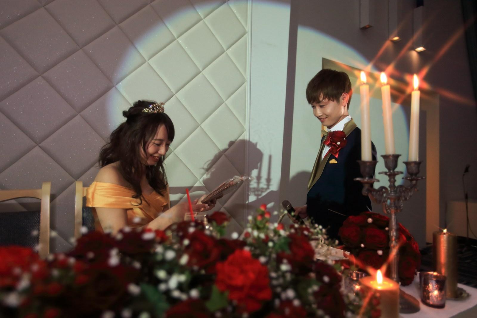 香川の結婚式場シェルエメール&アイスタイル 新郎サプライズ