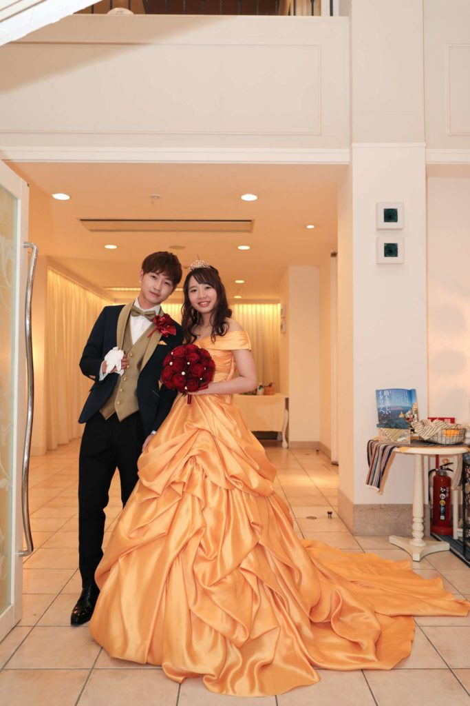 香川の結婚式場シェルエメール&アイスタイル 新郎新婦
