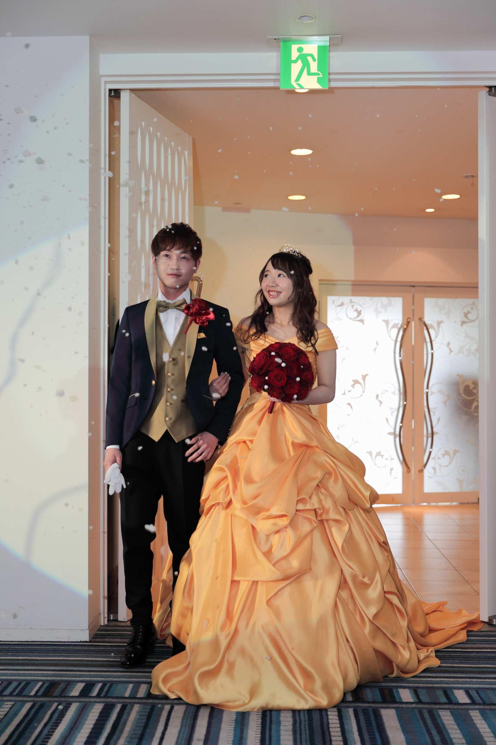 香川県の結婚式場シェルエメール&アイスタイル お色直し入場