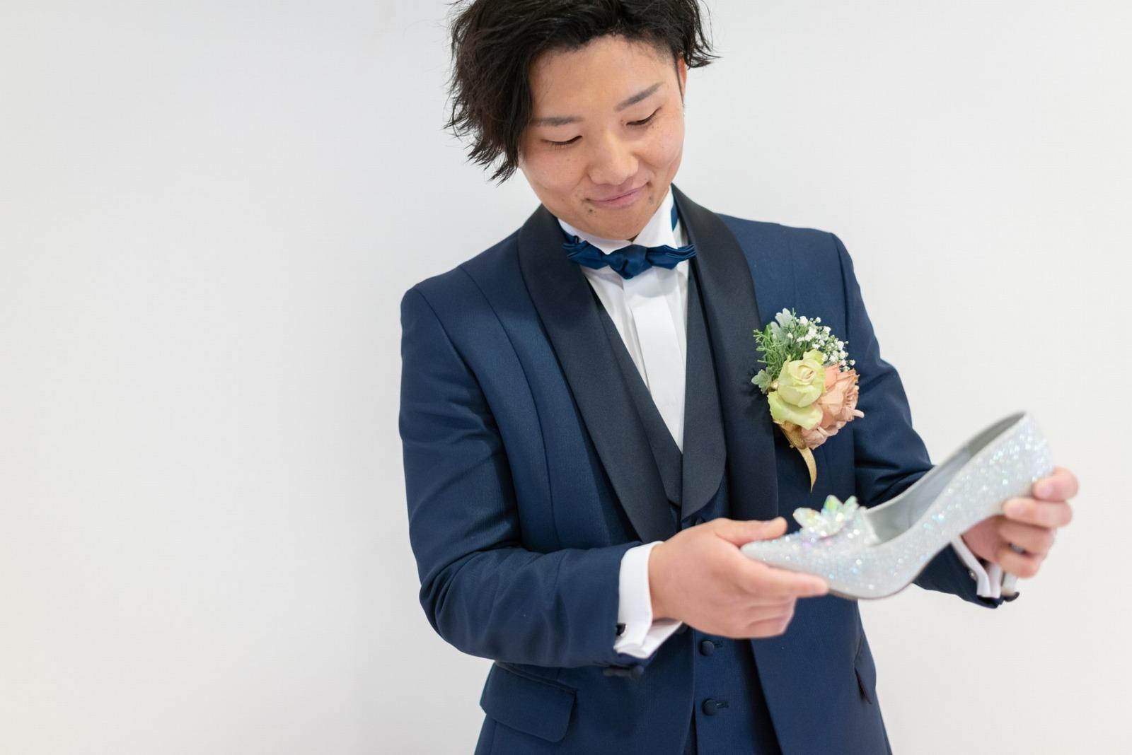 香川県の結婚式場シェルエメール&アイスタイル 新郎
